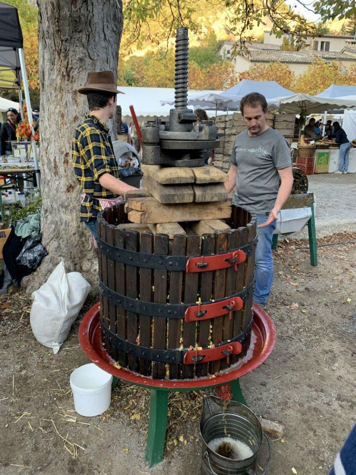 orpierre machine artisanale pommes